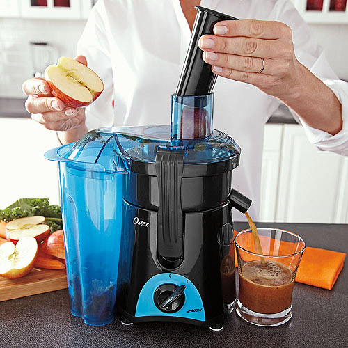 Oster Juice and Blend 2 Go Compact Juice Extractor and Personal Blender,