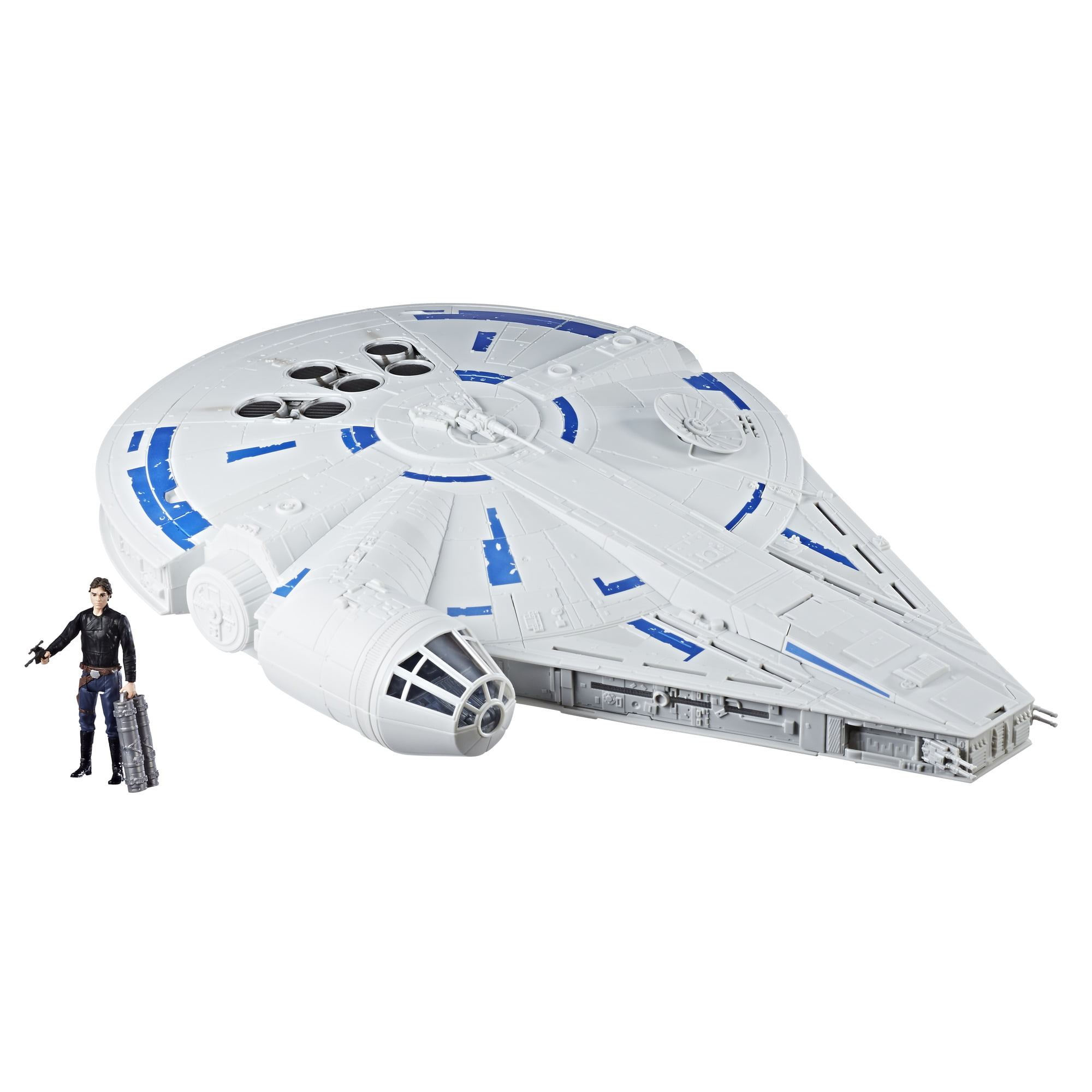 Star Wars Force Link 2.0 Kessel Run Millennium Falcon with Han Solo Figure by Hasbro