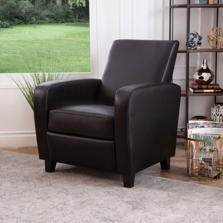 Devon Amp Claire Tulsa Bonded Leather Club Chair Multiple