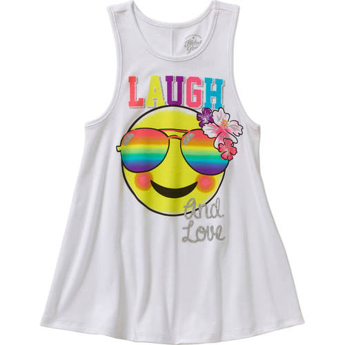 Faded Glory Girls' Graphic Tank by