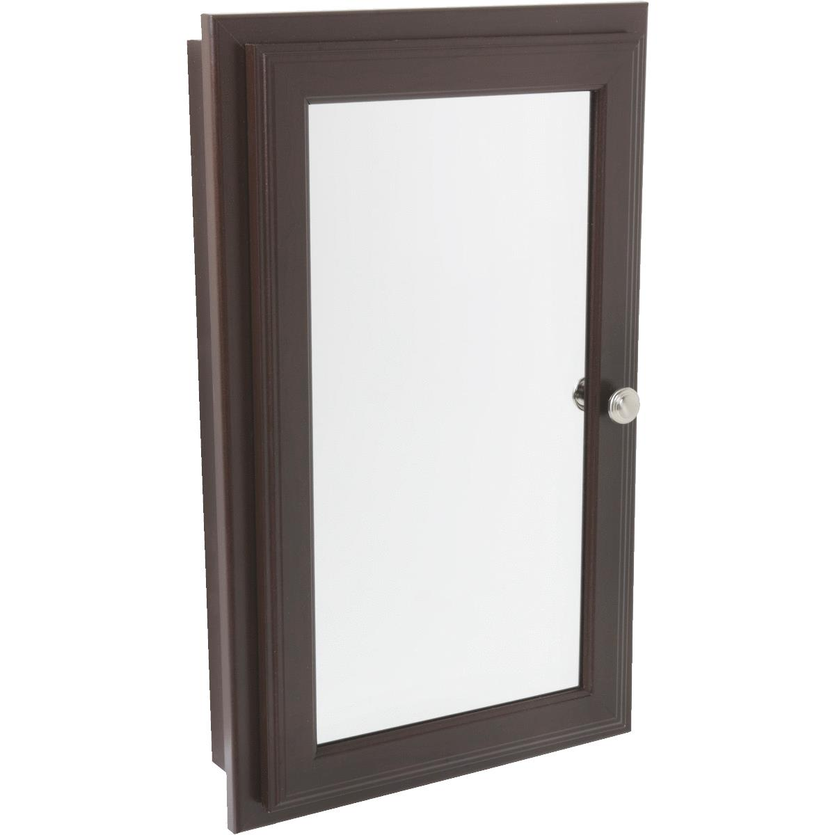 Continental Cabinets Framed Mirrored Door Medicine Cabinet by Continental Cabinets by RSI Home Products