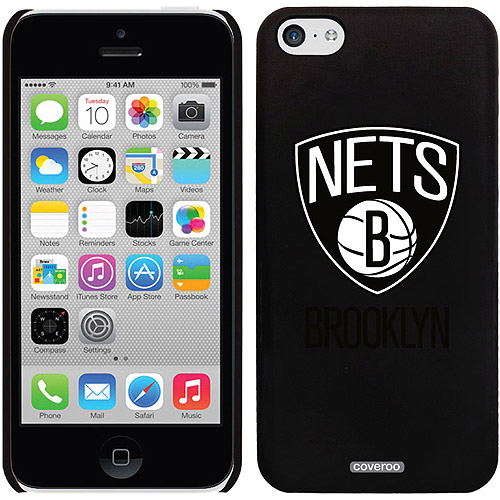 Brooklyn Nets Primary Logo Design on iPhone 5c Thinshield Snap-On Case by Coveroo