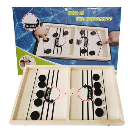 LeKing Hockey Board Game Set Puzzle Chess Set Parent-child Interactive Game Party Supplies - image 7 of 7