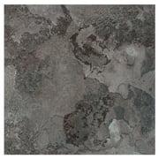 Achim Portfolio 12x12 2.0mm Self Adhesive Vinyl Floor Tile - Midnight Marble - 12 Tiles/12 sq. ft.