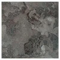 Achim Portfolio Self Adhesive Vinyl Floor Tile - 12 Tiles/12 Sq. Ft., 12 x 12, Midnight Marble