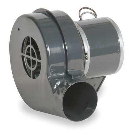 DAYTON 1TDN6 Round Rolled Steel OEM Specialty Blower, 48 cfm, 3105 RPM