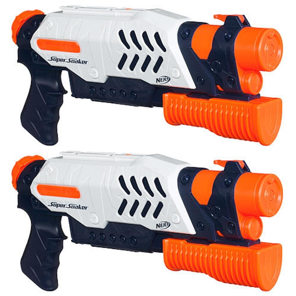 Nerf Super Soaker Scatter Blaster 2 Pack by Hasbro by