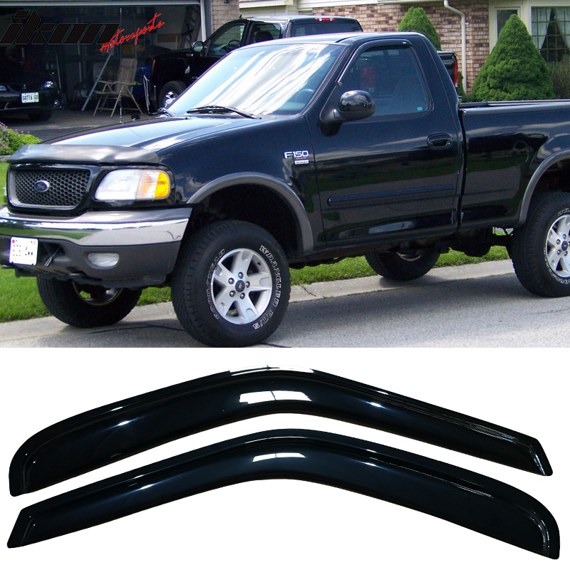 NAGD Compatible with 1997-2003 Ford F150// 1997-1999 Ford F250LD 2 Door Pickup Driver Left Side Front Door Window Glass