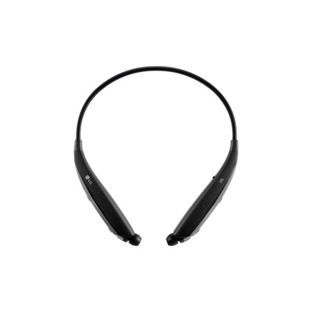 LG TONE ULTRA In-Ear Earbuds Headphones Bluetooth Wireless Stereo Neckband Headset with JBLB Audio, Built-In Remote and Mic, Black (New Open Box)