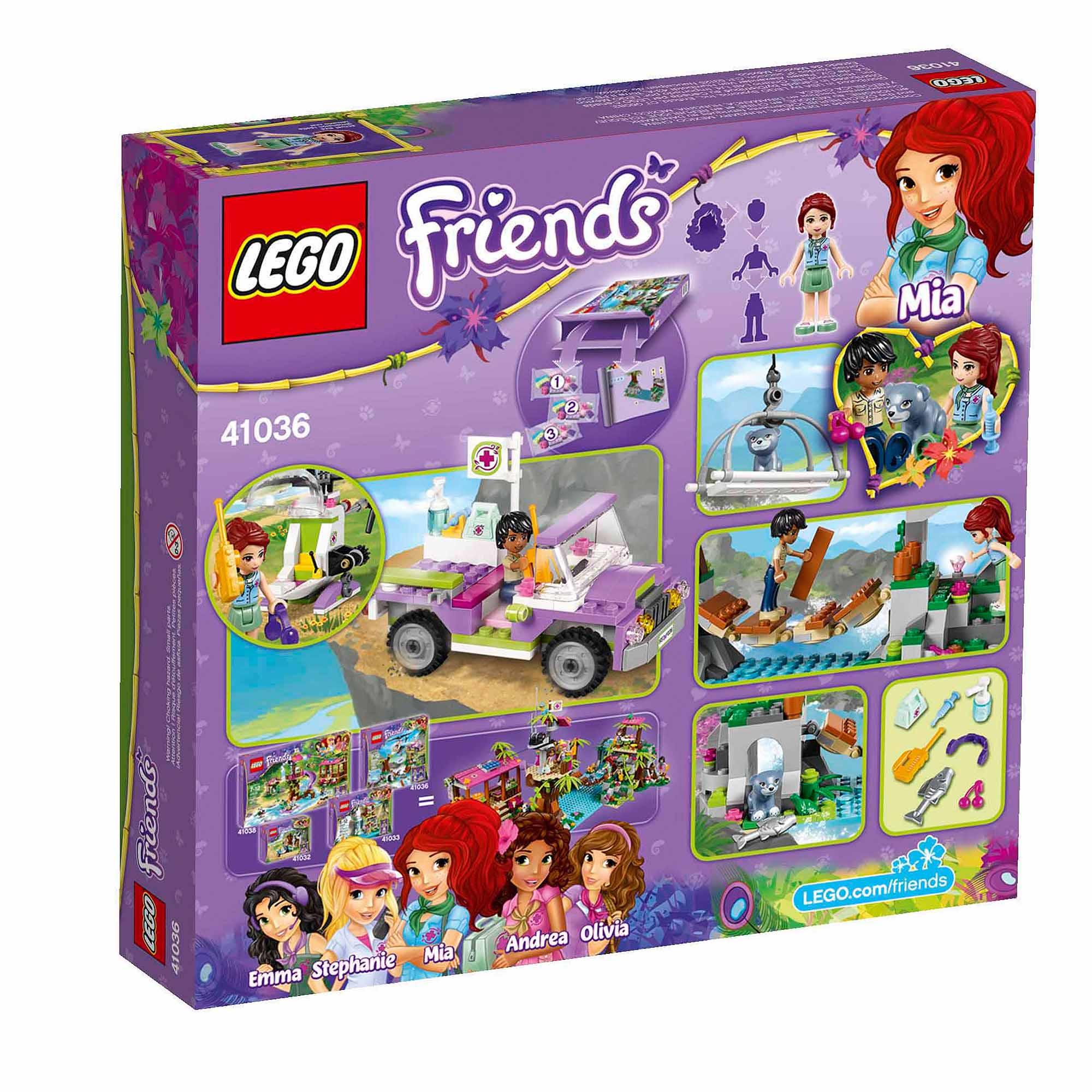 LEGO Friends Jungle Bridge Rescue - Walmart.com