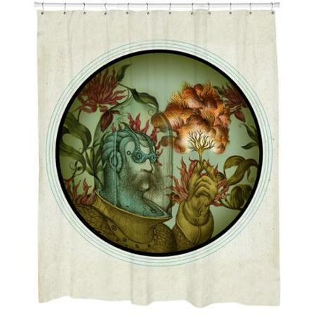 Sharp Shirter Calliope Shower Curtain