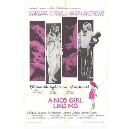 Posterazzi MOVEH1296 Nice Girl Like Me Movie Poster - 27 x 40 in. - image 1 of 1