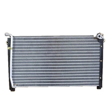 A/C Condenser - Pacific Best Inc For/Fit 4390 86-97 Nissan Hardbody Truck 87-95 Pathfinder 2WD/4WD without Receiver & Dryer Kit Nissan Hardbody Truck
