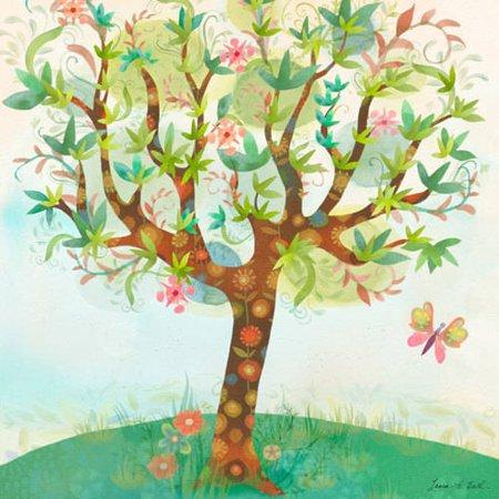 Oopsy Daisy - Canvas Wall Art Spring Breeze 21x21 By Laura Huliska Beith