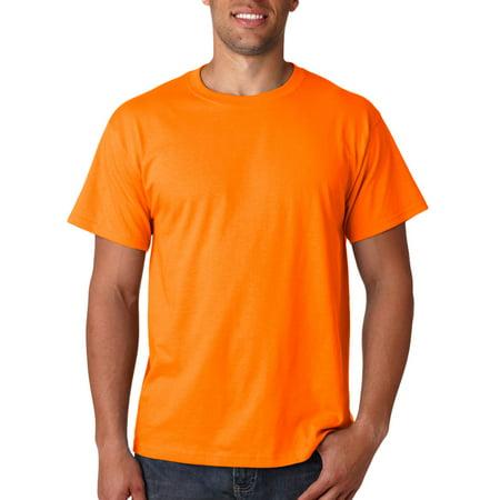 a1c1ee72 Fruit of the Loom - 3930 Lightweight Cotton T-Shirt -Safety Orange-5X-L -  Walmart.com
