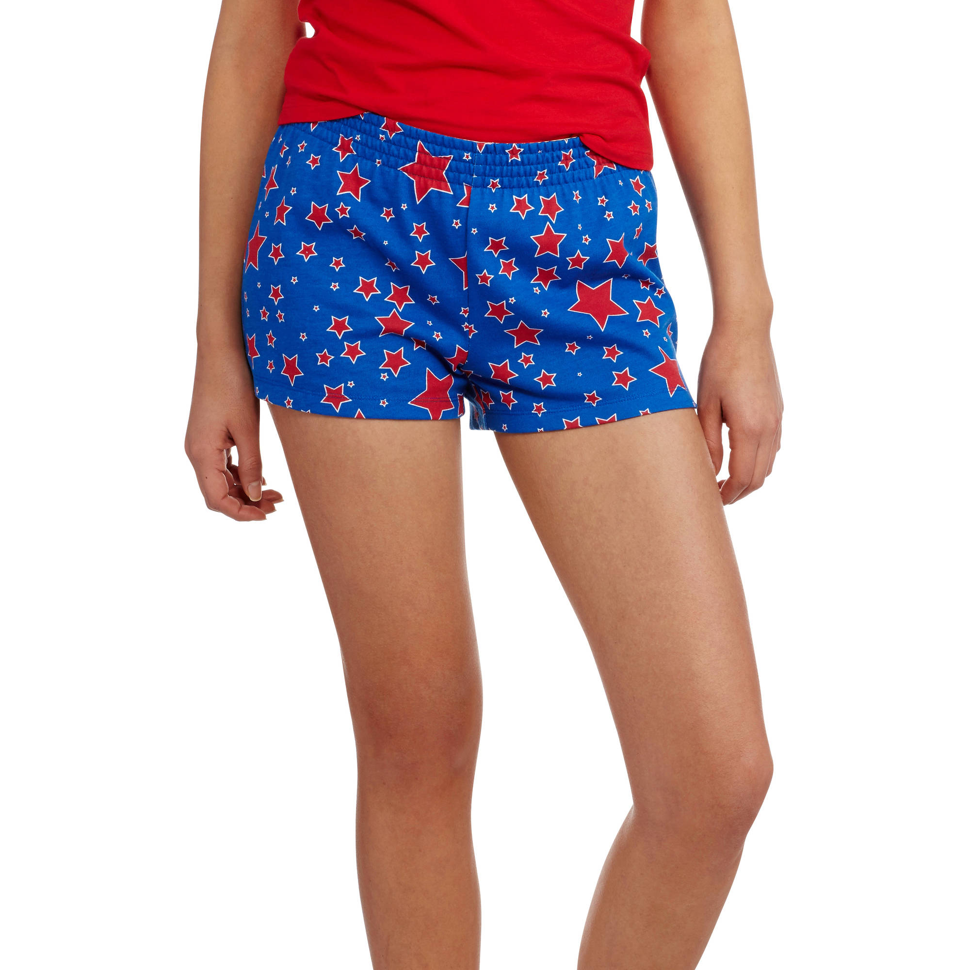 No Boundaries Juniors' Classic Roll Waist Shorts
