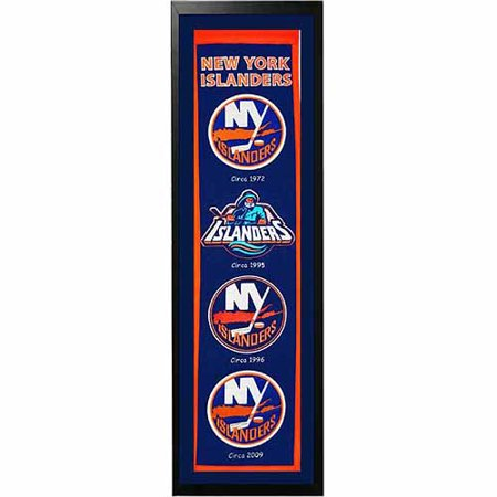"NHL 14"" x 37"" Banner Frame, New York Islanders by"