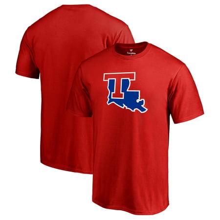 low priced 805d2 1e2e4 Louisiana Tech Bulldogs Fanatics Branded Primary Logo T-Shirt - Red