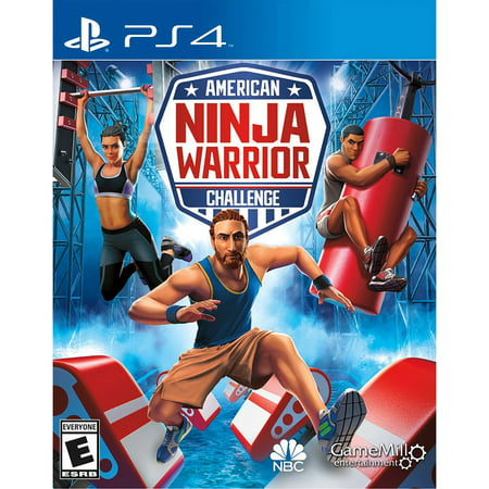 American Ninja Warrior, Gamemill, PlayStation 4, (Best Size Tv For Gaming Ps4)