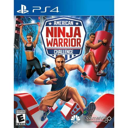 American Ninja Warrior, Gamemill, PlayStation 4,