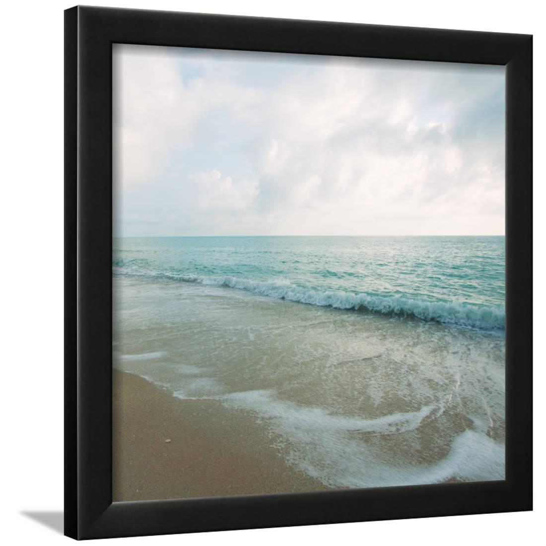 beach scene iii framed print wall art by susan bryant. Black Bedroom Furniture Sets. Home Design Ideas