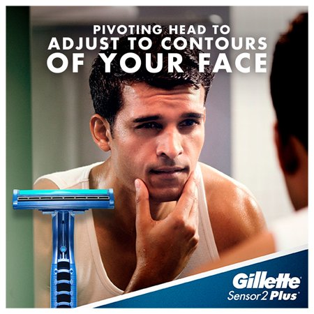 Gillette Sensor2 Plus Disposable Razors (52 ct.) - image 1 of 3