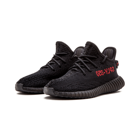 7b23e6f3dce7a ADIDAS YEEZY BOOST 350 V2 BRED BB6372 9K INFANTS KIDS