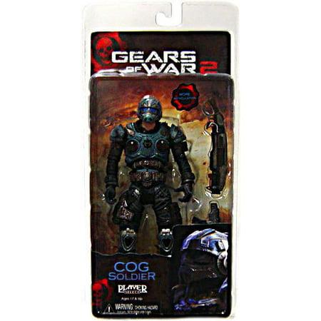 Neca Gears Of War (NECA Gears of War Series 5 COG Soldier Action Figure [Shotgun & Lancer] )