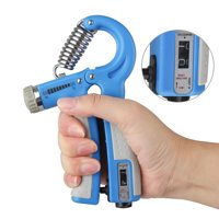 Forearm Hand Grip Strengthener Trainer Adjustable Resistance 10-132Lbs(10-60kg) Workout Hand Exerciser for Athletes and Musicians Fitness Guitar Pianist Hand Rehabilitation Training Squeezer Grippers