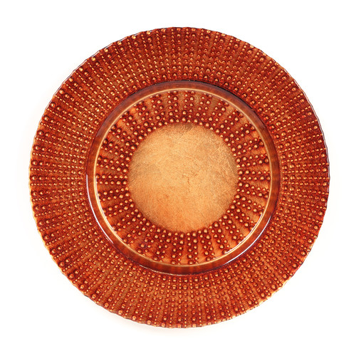 aztec charger plate