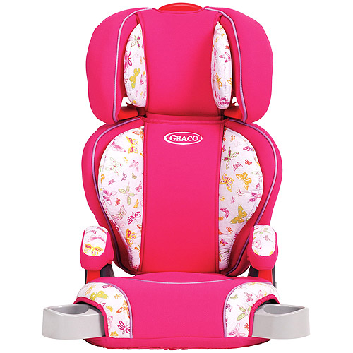 Graco - Highback Turbo Booster Car Seat, Butterfly