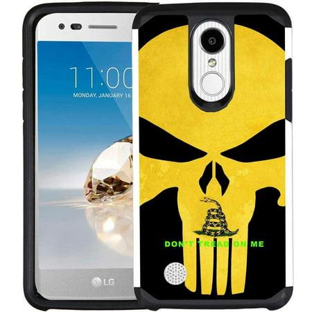 Gear Case Set (LG Aristo Case, LG K8 (2017) Case, LG Rebel 2 Case, LG Phoenix 3 Case, LG Fortune Case - Armatus Gear (TM) Slim Hybrid Case Dual Layer Protective Phone Cover)