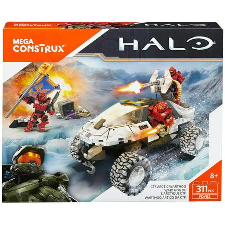 Mega Construx Halo CTF Arctic Warthog