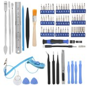 Tbest 80 In 1 Electronic Opening Repair Hand Tool Kit Screwdriver Set for Phone Laptop PC, Electronic Tool Kit, Electronic Repair Tool Kit