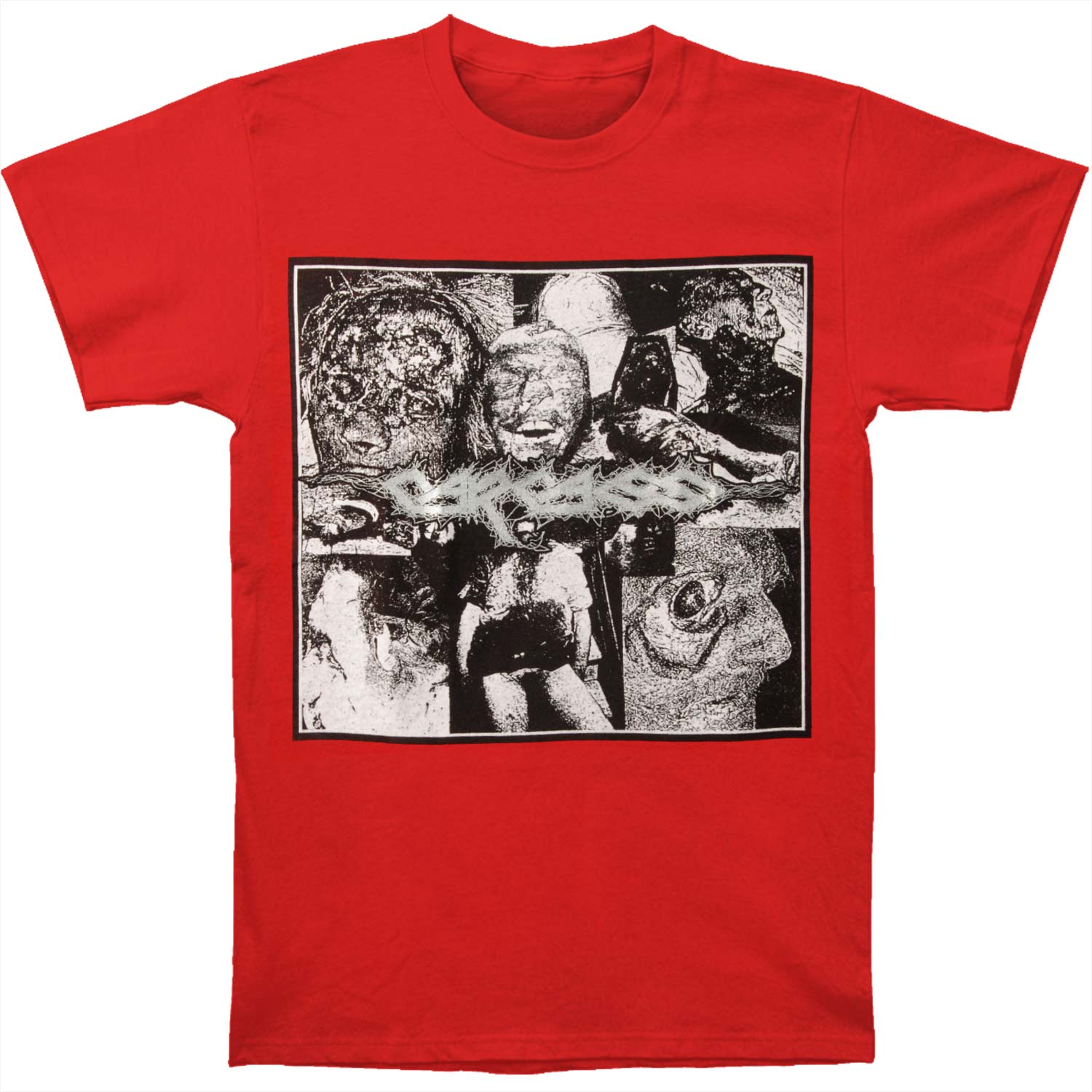 Carcass Men's  Putrefaction Summer 2016 T-shirt Red