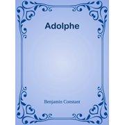 Adolphe - eBook