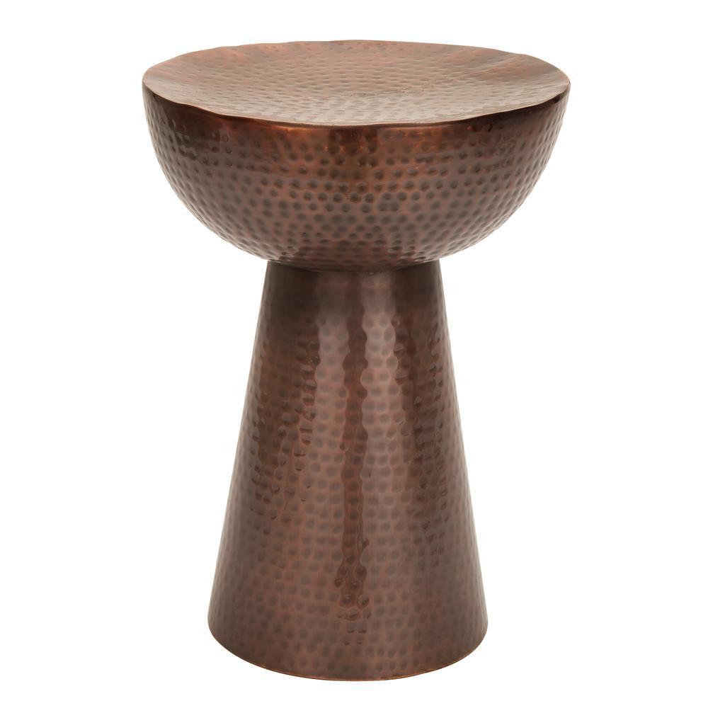 31333 Vintage Inspire Metal Bronze Stool