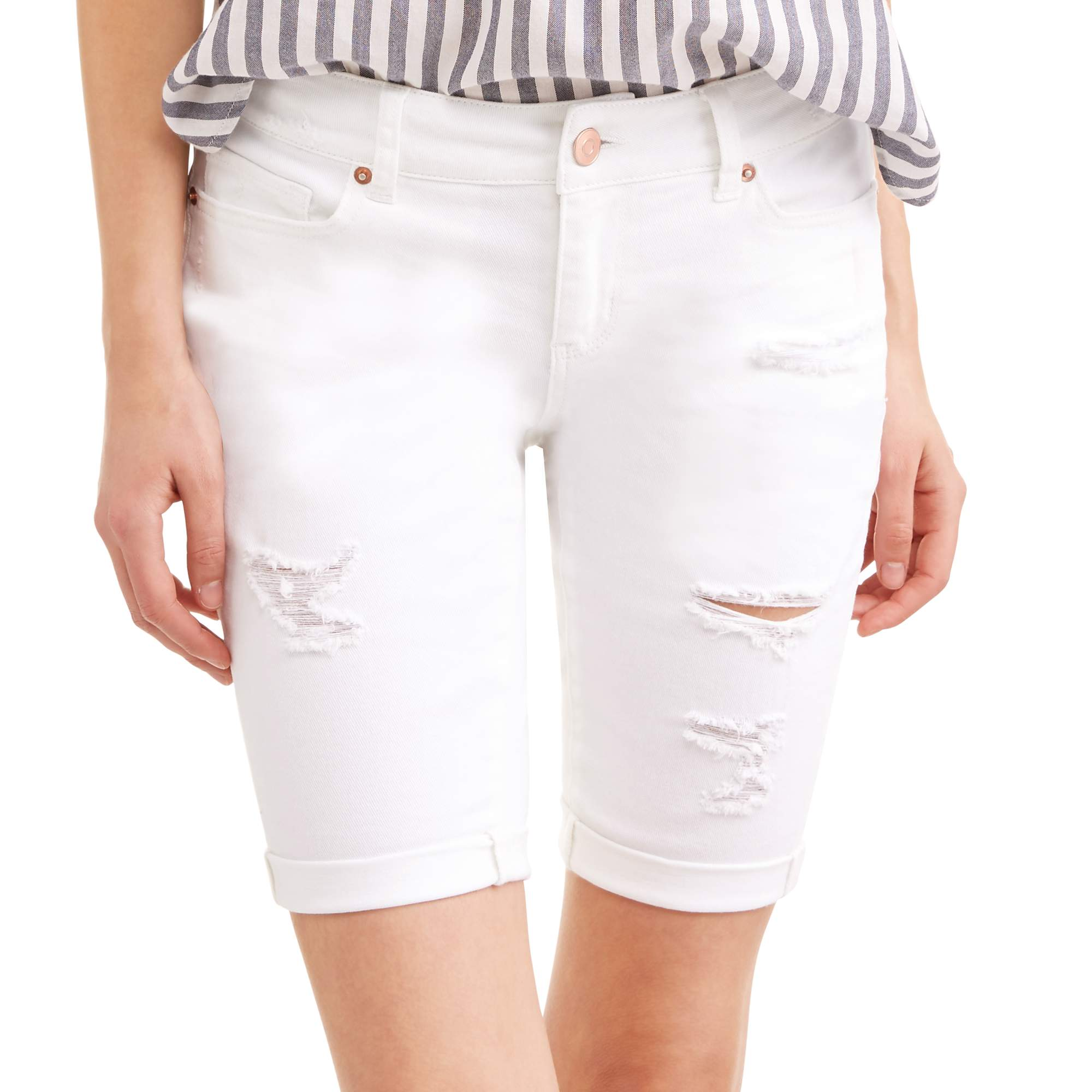 Time & Tru Women's Bermuda Shorts