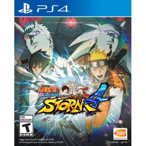 Namco Naruto Shippuden: Ultimate Ninja Storm 4 - Action/adventure Game - Playstation 4 (12012)