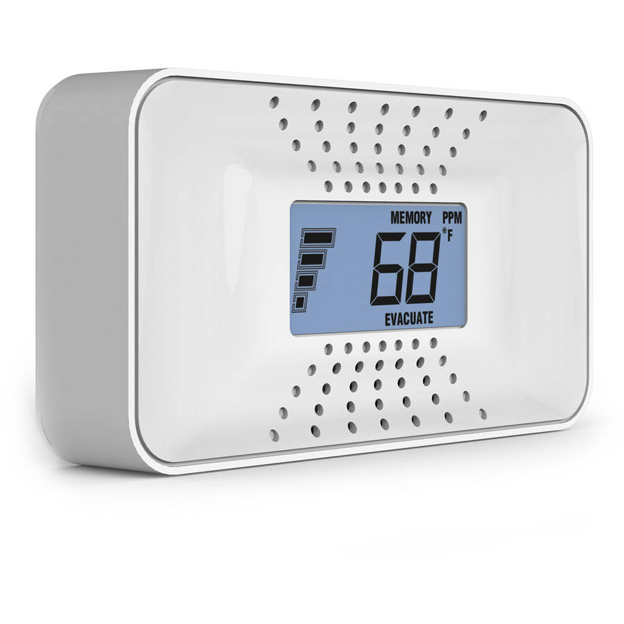 First Alert CO710 Carbon Monoxide Alarm with Temperature, Digital Display and 10-Year Sealed Battery