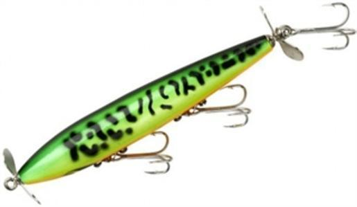 """Smithwick AF107 Tiger Roan 4.5"""" Devil's Horse 3 8 oz. Topwater Fishing Lure by Smithwick"""