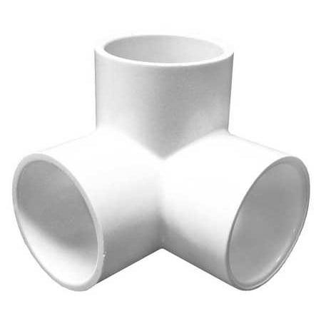 Lasco 1 1 2 Socket Pvc 90 Degree Elbow Side Outlet