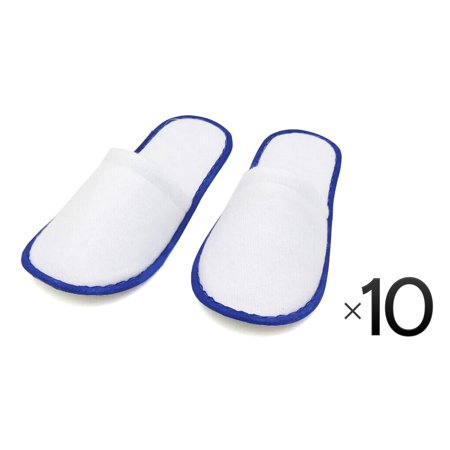 70a96b156 One Size Disposable Closed Toe Adult Cotton Slippers Salon Spa Hotel  Slippers for Women and Men