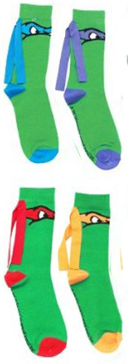 da441ac1726 Teenage Mutant Ninja Turtles - Masks Knee High Socks with Ribbon 4-Pack -  Walmart.com