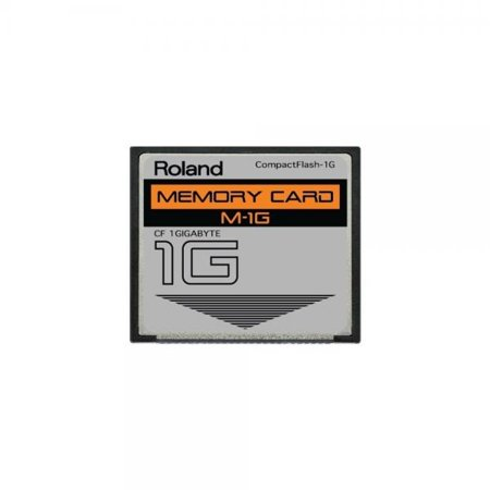 Digital Camera 1gb Card - 1GB Roland M-1G CompactFlash CF Memory Card for MC-808, SP-404, SP-555, V-Synth, Fantom and more