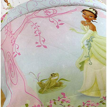 Upc 032281229955 Disney Princess Frog Twin Bed Comforter Tiana Pink Tree Upcitemdb Com