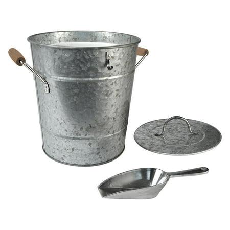 Artland Inc. Oasis Galvanized Ice Bucket with Scoop