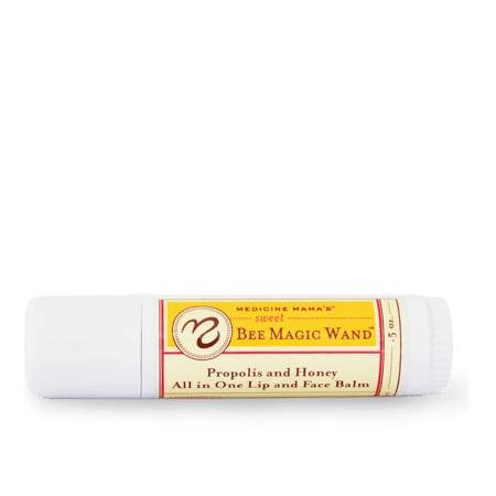 Sweet Bee Magic Wand Propolis and Honey All In One Lip and Face Balm Medicine Mama's 0.5 oz - Bee Sweet