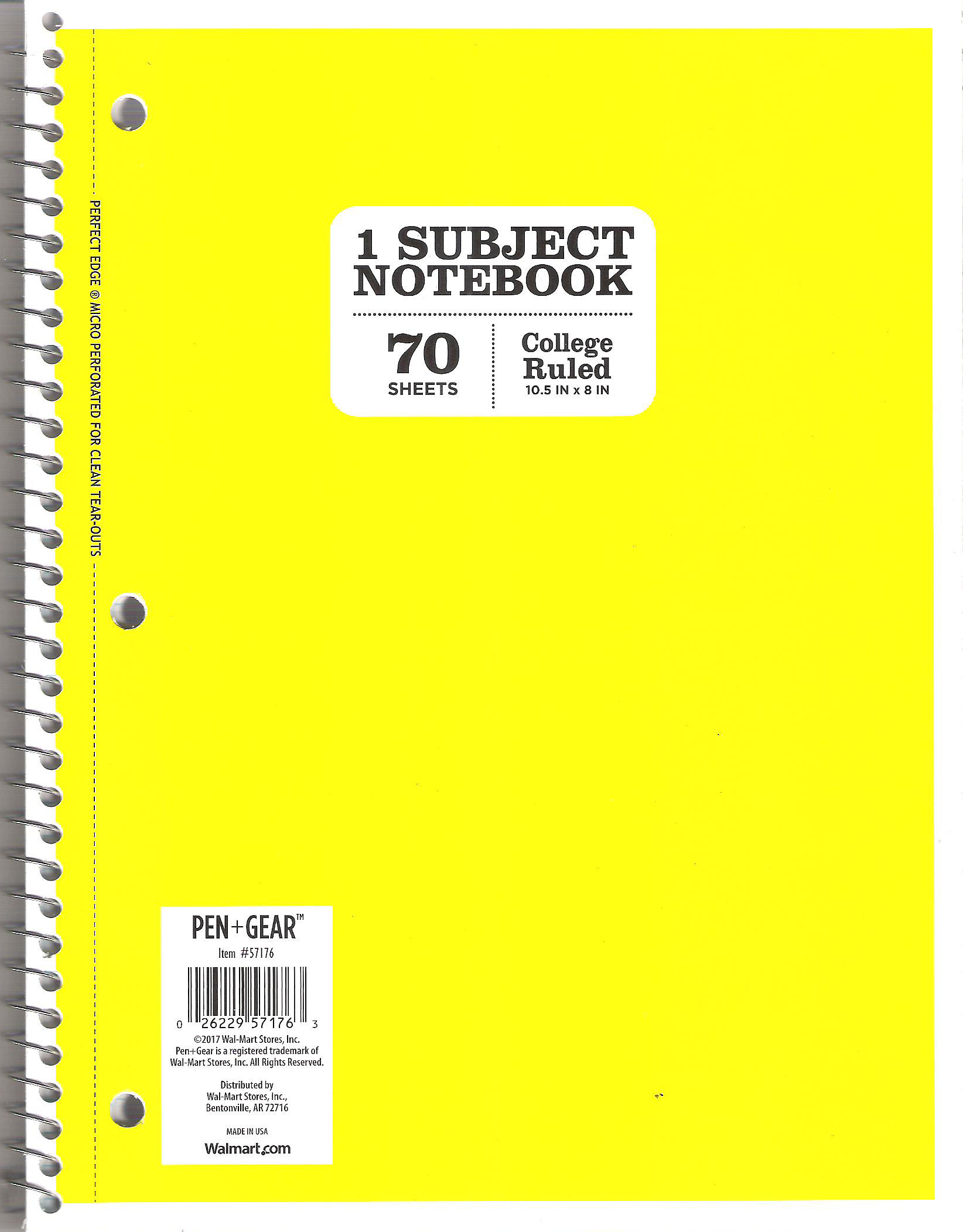 The Yellow Notebook