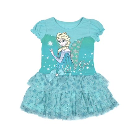 Elsa Let it Go Tulle Tutu Dress